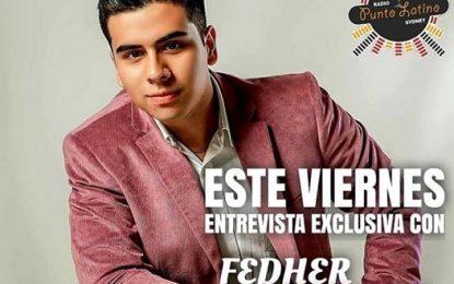 Fedher Guarnizo Mi Gente!!! Hoy Viernes 10 De Julio A Las 5 :00 pm 2am En Vivo Y En Exclusivo Para RITMO SON