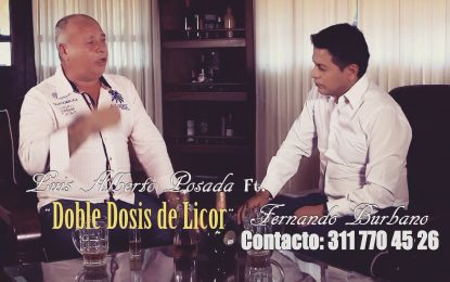 DOBLE DOSIS DE LICOR