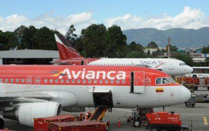 Avianca suspende venta de tiquetes para destinos nacionales por huelga