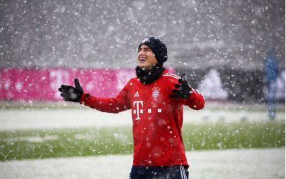 ¿Volverá James al banco de suplentes del Bayern?