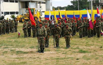 En el Catatumbo son activados seis nuevos batallones con cerca de seis mil hombres