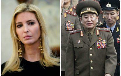 Ivanka Trump y general norcoreano asistirán a la clausura de los Juegos