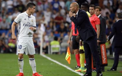 James y Zidane, frente a frente