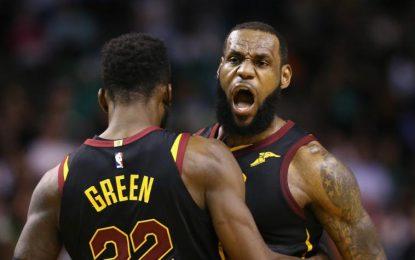 Cavaliers y LeBron James, finalistas de la NBA