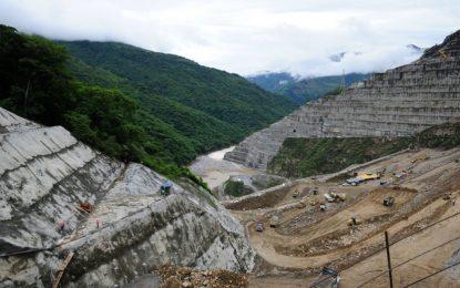Hidroituango alcanza la cota de los 410 y se evita el riesgo de una gran avalancha