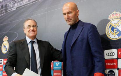 Zidane: Real Madrid debe seguir ganando y necesita un cambio para esto
