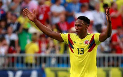 ¡Yerry es inmenso! Por arriba, otra vez le da el triunfo a Colombia