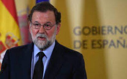 Mariano Rajoy es destituido de su cargo como presidente del gobierno español