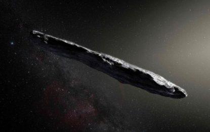 """Oumuamua: por qué unos científicos de Harvard creen que podría ser un objeto de """"una civilización alienígena"""""""
