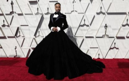 Premios Óscar 2019: ¿Quién es el hombre que se puso un vestido para la gala?