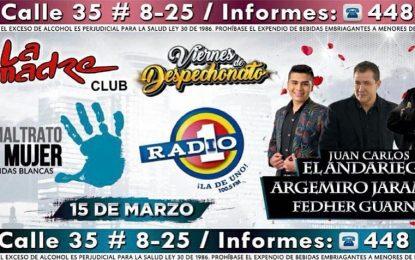 El Andariego Con Argemiro Jaramillo  Y Fedher Guarnizo Este Viernes 15 De Marzo En La Comadre Club Cali