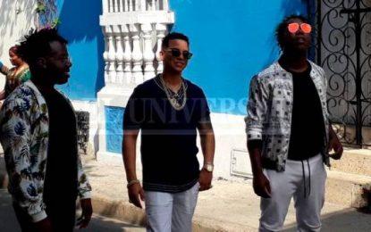 J Álvarez y Herencia de Timbiquí graban video musical en el Centro Histórico