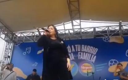 Arelys Henao Un Éxito Total Su Presentación Hoy En El Parche De La Calle En Bosa Bogota…