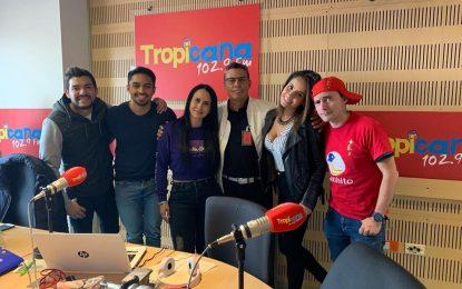 El Andariego Music En Bogota En Gira De Medios En Tropicana Stereo Bogota,Alex Marina Stereo,Caracol Radio,Radio Santa Fe 1070