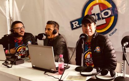Gracias Radio Uno Bogota Por La Invitación Y El Gran Apoyo A Nuestros Artistas El Andariego Music,Fernando Burbano,Argemiro Jaramillo Y Fedher Guarnizo