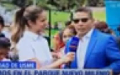 El Andariego Music Aquí En Usme Festi Parques Con Canal RCN,Radio Uno Bogota,Y Con Sus Grandes Éxitos..