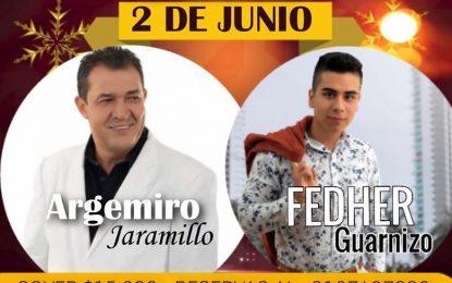 Arjemiro Jaramillo Y Fedher Guarnizo En Pacora Caldas Este 2 De Junio En Eskaramus Con Sus Mas Grandes Éxitos….