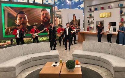 Jonny Rivera Y Jessi Uribe Hoy Desde Día A Día Presentándole A Todo El PaísTu Veneno……
