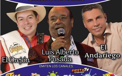 El Especial Festivo De La Cantina Este Lunes 24 De Junio Con El Andariego Oficial, El Orejón Trovador,Posada Records,Tele Nostalgia