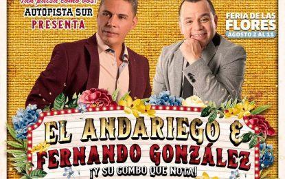 El Andariego Music Este Viernes 2 De Agosto Medellin ,Ay Amasita,Guaro Guaro,Sírvalo Pues