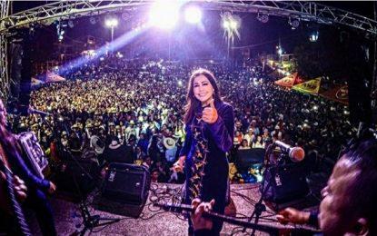 Arelys Henao En Ferias Y Fiestas De Guayabal De Sequima Cundinamarca