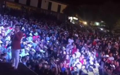 Fedher Guarnizo En Manzanares Caldas Cantando Sus Grandes Éxitos Como Símbolo Sexual,Fracaso De Amor, Y Sin Ti Vivo Mejor