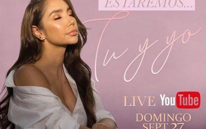 Paola Jara Este Domingo Un Especial Tu Y Yo Por Youtube A Las 7:00 PM
