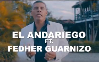 Fedher Guarnizo Hoy Estrenamos Video Oficial!! Me Resigné El Andariego Music , 6:00 pm Estará En YOUTUBE! Sergio Zapata Manager
