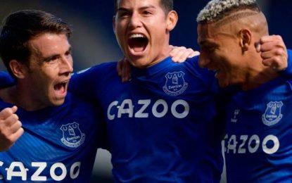 Madrugón Por Clásico Hoy Entre Everton, De James Y Liverpool, De Salah