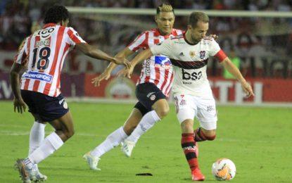 Junior, Por Un Milagro Ante El Flamengo En La Libertadores