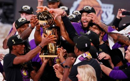 Los Lakers De Los Ángeles Son Los Campeones De La NBA