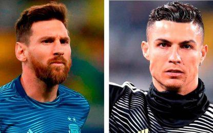Messi Y CR7, Candidatos A Mejores Delanteros Del 'Dream Team' Histórico