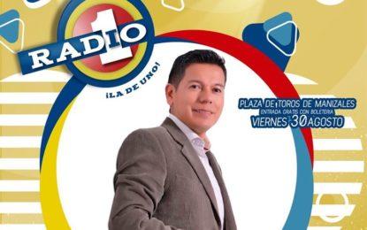 Fernando Burbano Oficial Con Radio Uno Manizales Viernes 30 De Agosto,Ahora Que Puedo,Decidí Vengarme,Entre El Amor Y El Trago,Doble Dosis De Licor Y Mas…