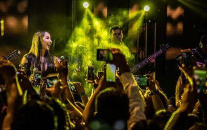 Paola Jara Cantar En Bogotá Siempre Es Un Placer 🙏🏼❤️ El Primero De Hoy Bogotá, Colombia