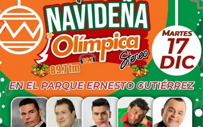 Argemiro Jaramillo,El Andariego,Fedher Guarnizo Con Olimpica ManizalesEn La Gira Navideña…