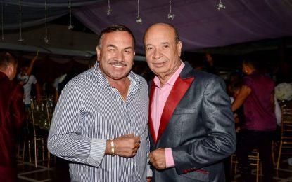 Luis Alberto Posada Junto A Mi Amigo Y Colega Charrito Negro