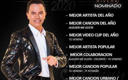 Jhonny Rivera Nominado A Los Premios Mi Gente TV