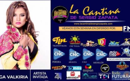 Olga Valkiria Esta Semana En La Cantina De Sergio Zapata, La Cantina Radio, No Se Pierdan Esta Entrevista En Su Canal Preferido
