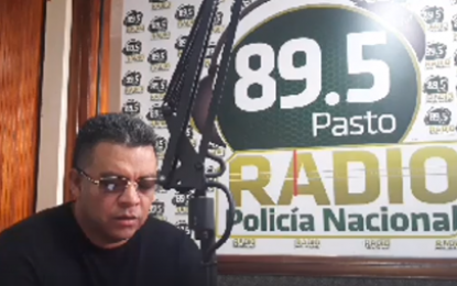 Luisito Muñoz En Radio Policía Nacional 89.5 Pasto