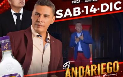 El Andariego Music El Sábado 14 De Diciembre El Andariego Oficial en Chinchina Caldas,Amor Mal Sano