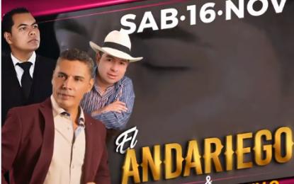 El Andariego Music Ay Amasita Este Sábado 16 De Noviembre Quimbaya-Quindio Con Nuestro Artista El Andariego Coliseo Cubierto,Quimbaya Quindio,Ay Amasita,Guaro Guaro….