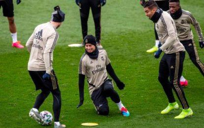James Rodríguez Volvió A Entrenarse Con El Grupo En El Real Madrid
